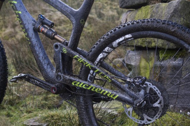 alchemy arktos carbon full suspension fox enve thomson 1x11