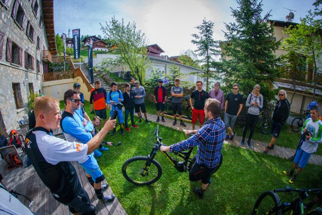 Rocky Mountain Altitude Powerplay launch, Valberg 2017. April 2017. Photo by Matt Wragg
